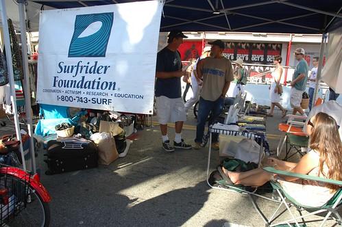 Abbot Kinney Festival 2007 Surfrider foundation