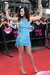 Katy Perry @ 2010 MuchMusic Video Awards (allcelebpics) Tags: sexy celebrity pose dress arms legs candid singer celebs flex celeb