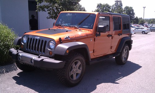 New owner - Wrangler Unlimited Mountain Edition in Mango Tango ...