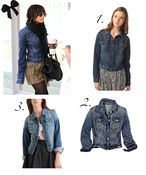 Levi's Iconic Jean Jacket $68 from Urban Outfitters 2. AE Denim Jacket