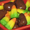 Chocolate Covered Green Apple Candy Corn (4)