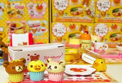 8  (applel0ve) Tags: friends cute bird box bears plate desserts cupcake kawaii rement 2010 kuma rilakkuma sanx  korilakkuma kiiroitori