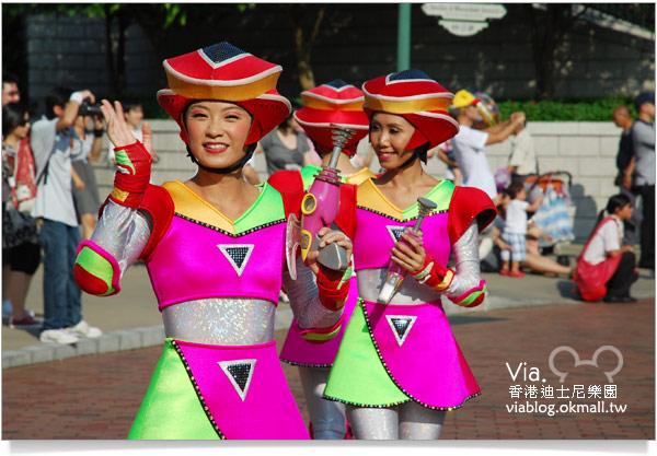 【香港迪士尼】跟著via玩香港(3)~迪士尼卡通人物歡樂巡遊42