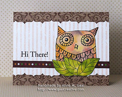 Hi There Owl (prospurring (Anne)) Tags: leaves dewdrops leaf ranger blossoms lemonade canson ribbon citrus memento accents heroarts hazelnut sentiment fiskars butterscotch enamel hithere glossypaper watercolorpaper americancrafts alcoholinks desertsand mountainrose glosspaper archivalink cg102 montval vintagesepia bigowl peachbellini tsukineko versafine waterproofinks k5059 cl140 prospurring nonstickcraftsheet borderpunch uppercrest antiquebrocade canvasstripes blendingsolution borderpunches cg148 thinkingofyoumessages cg196 blendingtoolandfelt november2010a