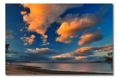 Evening Clouds Over the Sea of Cortez (Bill Gracey) Tags: sky weather clouds mexico cielo nubes bajacalifornia baja seaofcortez tiempo bahiadelosangeles mardecortez mywinners