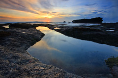 Breathtaking (januartha) Tags: sunset bali seascape beach water rock indonesia tanahlot coasta tabanan platinumphoto flickraward melastibeach
