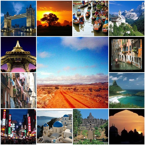 World Traveler Collage 2