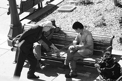 Chinese Chess Players (doegox) Tags: sanfrancisco bw chinatown xiangqi chinesechess players exposed  doegox