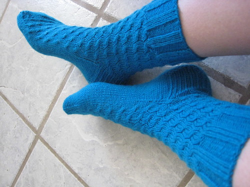 Turquoise Uptown Boot Socks