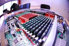 Killer Server (ArtBrom) Tags: computer nikon amd fisheye d200 server fourway 1u opteron 105mm dualcore 128gb