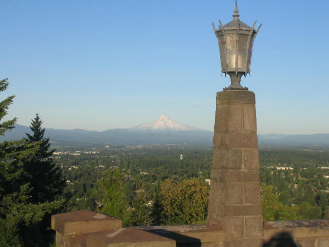 Mount Hood from Rocky Butte