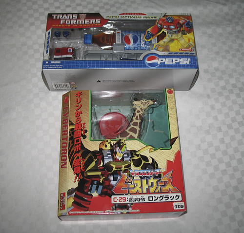 Botcon '07 - Day 2 - My haul after the dealer room opened!