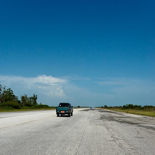 Mujere Dominicana En La Autopista Desnuda (mapas De