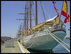 J.S. de Elcano (Spain) (DeFerrol) Tags: barco ship sebastian juan vessel armada sail escuela tall buque goleta velero elcano navegacion