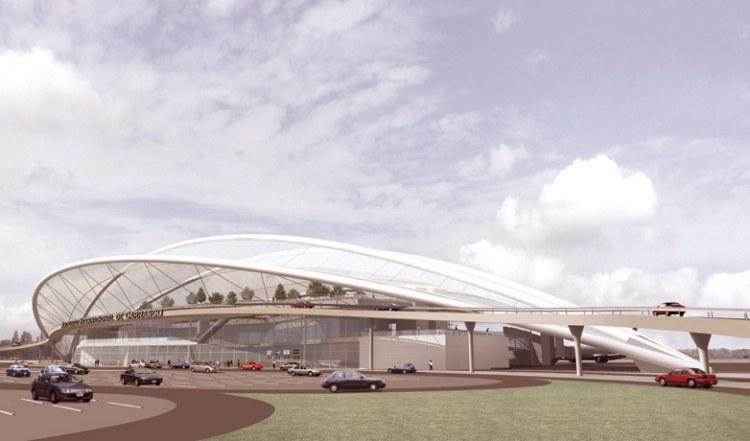 nueva terminal aeropuerto montevideo