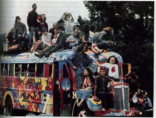 Protest bus