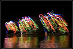 Boretto's fireworks #2 (Andrea Cucconi) Tags: longexposure italy color colors beautiful reflections wonderful river interestingness interesting nikon bravo italia fireworks vivid riflessi nigh nighshot reggioemilia blueribbonwinner fuochiartificiali supershot fiumepo 10faves d80 nikonstunninggallery andreacucconi platinumphoto boretto superbmasterpiece superhearts votedthebest