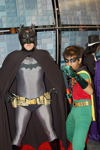 Comic Con 2007: Batman and Robin