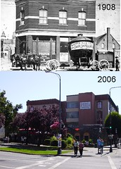 Then (1908) & Now (2006) (glenalan54) Tags: heritage history hotel change victoriabc princehotel governmentstreet victoriaplazahotel pandoraavenue