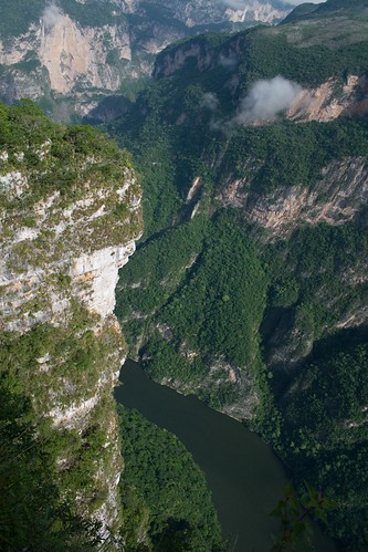 Sumidero Canyon in Chiapas
