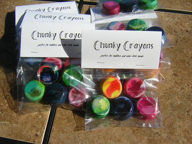 Chunky Crayons