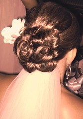 Andrea Wedding (bridalinmotion) Tags: wedding hair bride pittsburgh homecoming prom bridal hairstyle updo updos weddinghair formalhair wwwbeautyinmotionnet