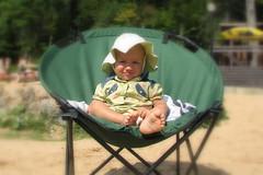 Beach Chair (Rain Rannu) Tags: summer baby suvi mariel
