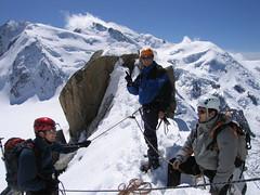 A la fin de l'arte des cosmiques (NO) Tags: france alps alpes mountaineering chamonix montblanc alpinisme artedescosmiques cosmicedge