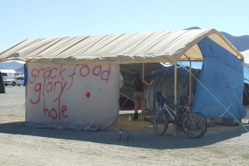 Snack food glory hole camp-4335