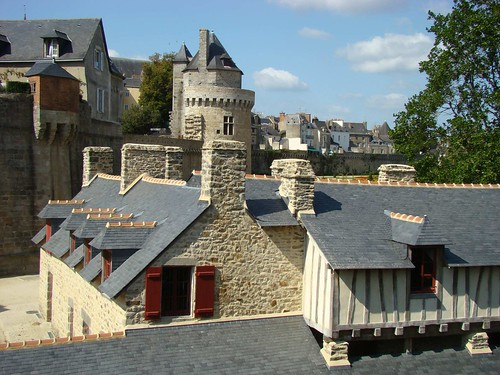 The roofs of Vannes