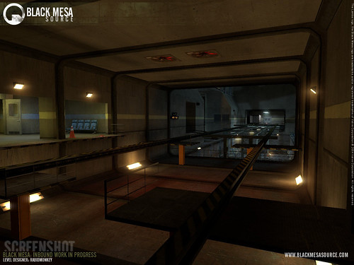Black Mesa juego rieles