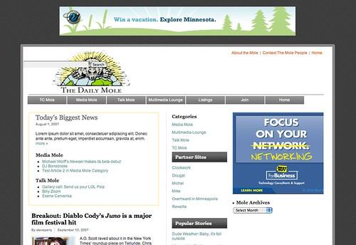 DailyMole.com Homepage