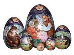Matryoshka (golli43) Tags: doll folkart russia carve babushka collecting matryoshka malerei nestingdoll matrjoschka russischevolkskunst holzdrechselei
