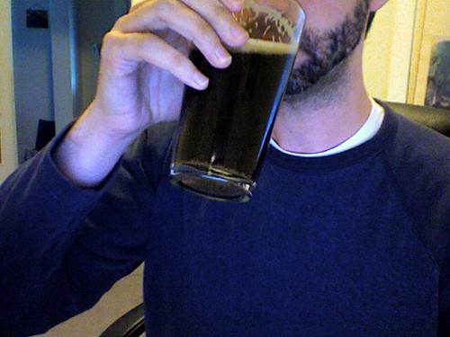 Its the stout. The stout that I drink.