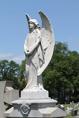 Cemetery of Holy Sepulchre (cak56) Tags: cemetery angel newjersey wings essexcounty headstone statues deadart graveart newarkeastorange
