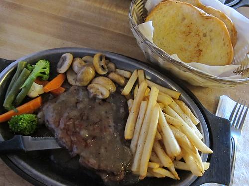 Brave Bull's Pepper Steak