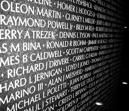 Washington DC: Vietnam Veterans Memorial