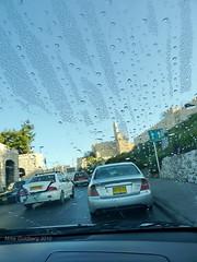 The Blue Light of Morning (Mike Goldberg) Tags: traffic morningdew walledcity towerofdavid mikegoldberg oldcityofjerusalem panasonicfz35