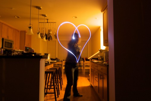Light Graffiti - Heart
