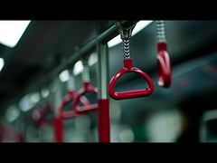Bokeh of 135mm DC (terencehonin) Tags: hk subway hongkong dc nikon bokeh nikkor cinematic 135mm mtr d700
