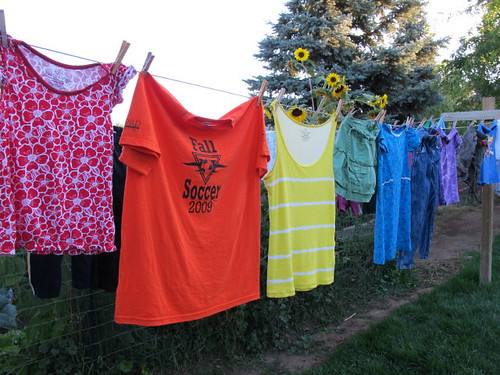 My rainbow clothesline #7