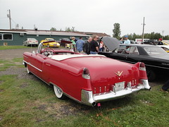 55 Cadillac (DVS1mn) Tags: red cars 1955 car gm five convertible cadillac 55 luxury caddy nineteen fifty generalmotors 2door nineteenfiftyfive