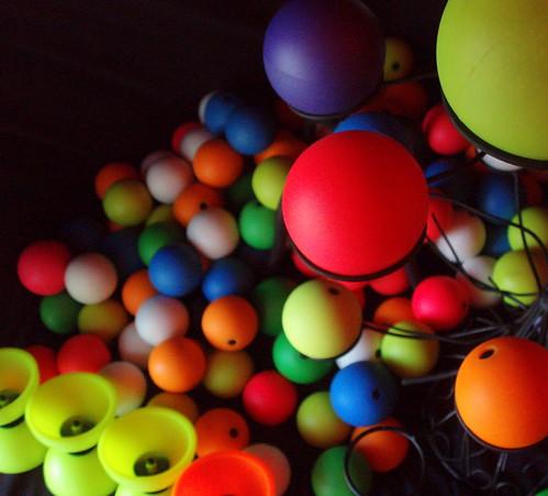 Balles colorées!
