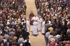 The Gospel (SF Brit) Tags: easter cathedral grace service bishop episcopal altarpiece keiskamma
