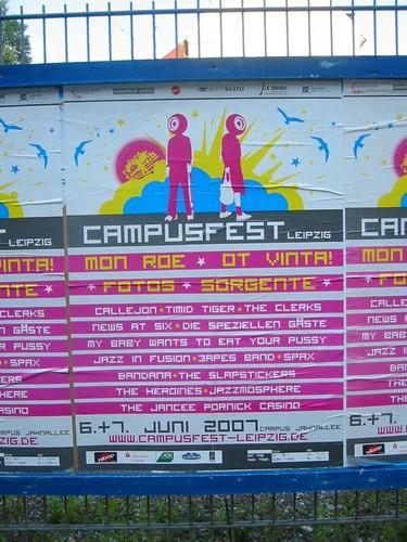 Campus Fest Poster