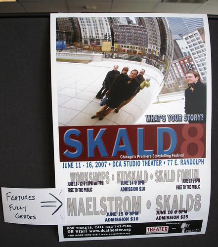 SKALD poster