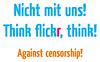 against flickrs censorship