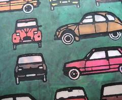 (pavilion tone) Tags: cars car drawing 2cv letraset