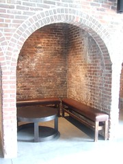 Foundry Benches & Table (The Foundry L.I.C.) Tags: benches archways thefoundry alcoves thefoundryinterior foundrybench foundrytable thefoundrylic