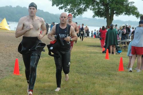 Lake Mills Triathlon - Swim